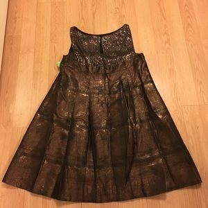 Nanette Lapore bronze Night Out sequin dress